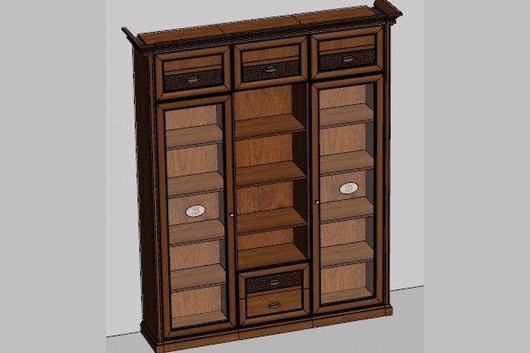 Купить Шкаф Изотта 8 в интернет магазине корпусной и мягкой мебели для дома