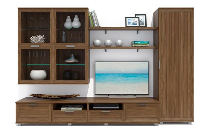Купить Гостиная Бона 1 в интернет магазине корпусной и мягкой мебели для дома