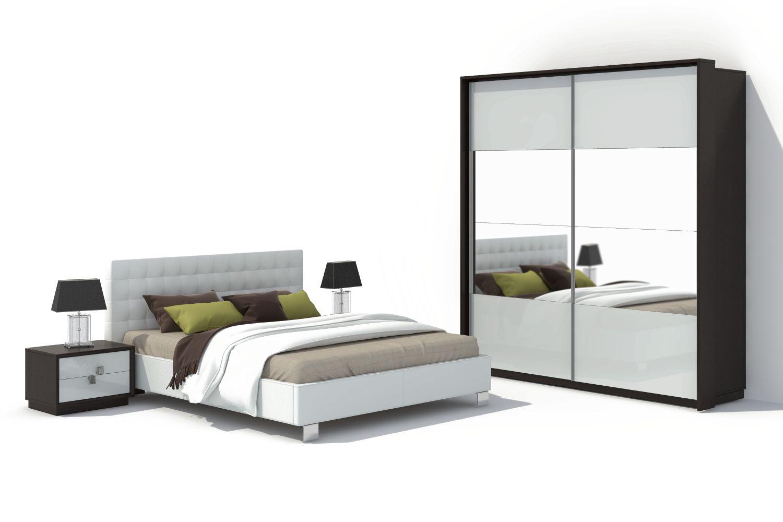 Спальня Брио 10 АнгстремБрио<br><br><br>Артикул: None<br>Высота: 2378<br>Ширина: 2194<br>Глубина: 682