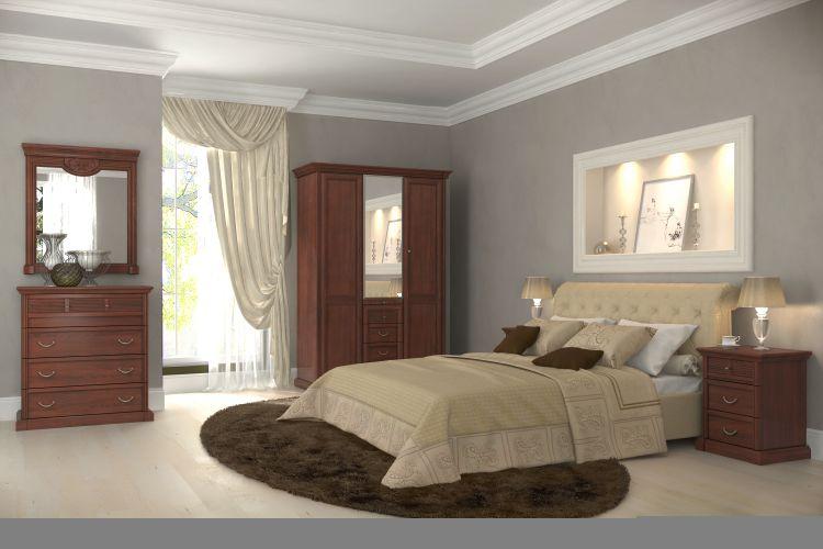 Спальня Изотта 3.2 АнгстремИзотта<br><br><br>Артикул: None<br>Высота: 2268<br>Ширина: 1543<br>Глубина: 661