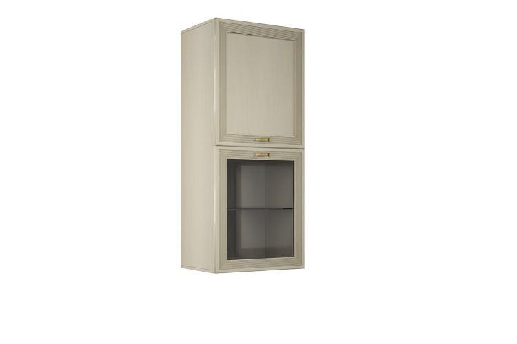 Купить Шкаф навесной Адажио АГ-418.04 , Д1 в интернет магазине корпусной и мягкой мебели для дома