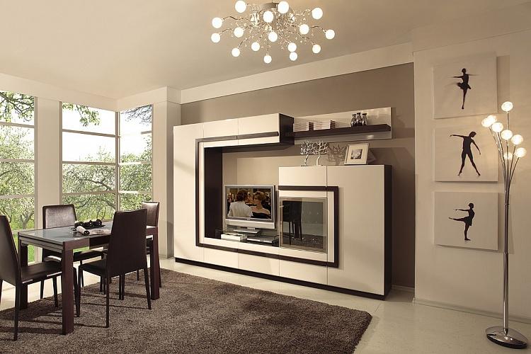 Купить Комплект № 2 Гостиная &quot-Глейс&quot- в интернет магазине корпусной и мягкой мебели для дома