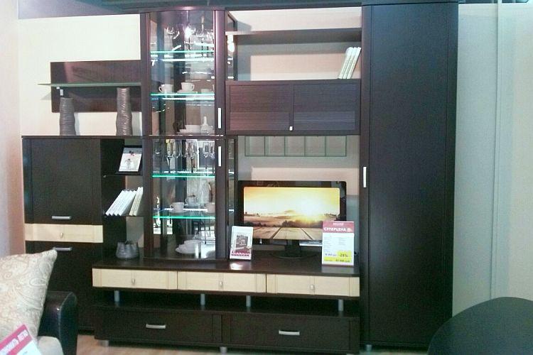 Купить Гостиная Эстетика в интернет магазине корпусной и мягкой мебели для дома
