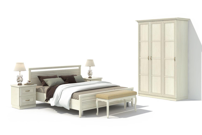 Спальня Адажио 12.1 АнгстремАдажио<br><br><br>Артикул: None<br>Высота: 2238<br>Ширина: 1490<br>Глубина: 648