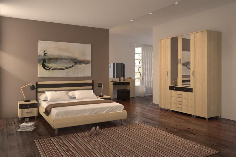 Купить Спальня Эстетика 2.1 в интернет магазине корпусной и мягкой мебели для дома