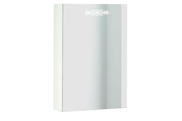 Шкаф навесной с зеркалом Аккорд 500.11 Левый АнгстремАккорд<br><br><br>Артикул: ACE.006.00<br>Высота: 700<br>Ширина: 470<br>Глубина: 150