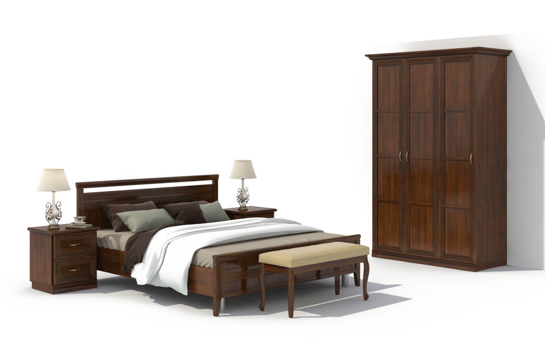 Спальня Адажио 12.2 АнгстремАдажио<br><br><br>Артикул: None<br>Высота: 2238<br>Ширина: 1490<br>Глубина: 648