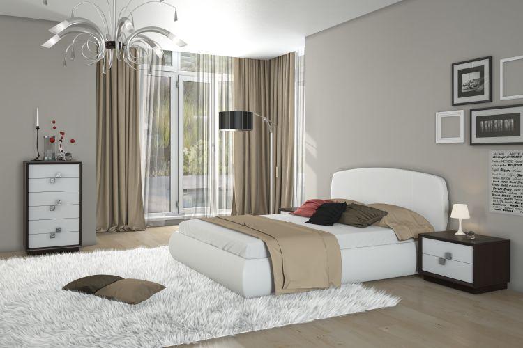 Купить Спальня Брио 8 в интернет магазине корпусной и мягкой мебели для дома