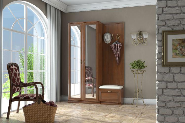 Купить Прихожая Адажио 2 в интернет магазине корпусной и мягкой мебели для дома