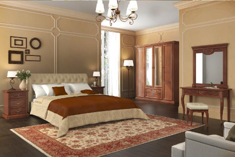 Спальня Изотта 5.1 АнгстремИзотта<br><br><br>Артикул: None<br>Высота: 2268<br>Ширина: 2133<br>Глубина: 661