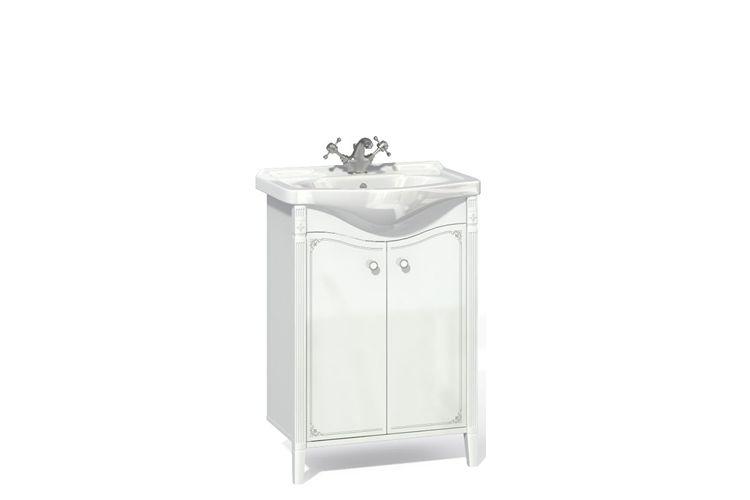Купить Тумба с раковиной Юнис 600.01 в интернет магазине корпусной и мягкой мебели для дома
