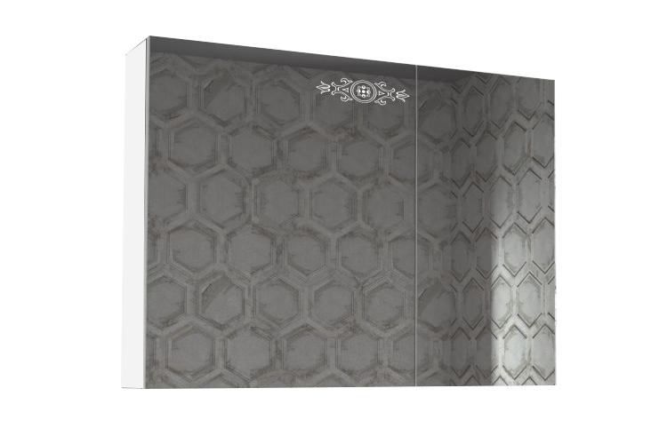 Купить Шкаф зеркальный Аккорд 900.11 в интернет магазине корпусной и мягкой мебели для дома