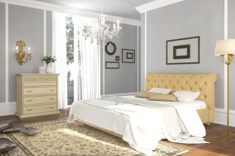 Спальня Изотта 8 АнгстремИзотта<br><br><br>Артикул: None<br>Высота: 1090<br>Ширина: 1840<br>Глубина: 2350