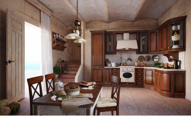 Купить Кухня Фиренце в интернет магазине корпусной и мягкой мебели для дома