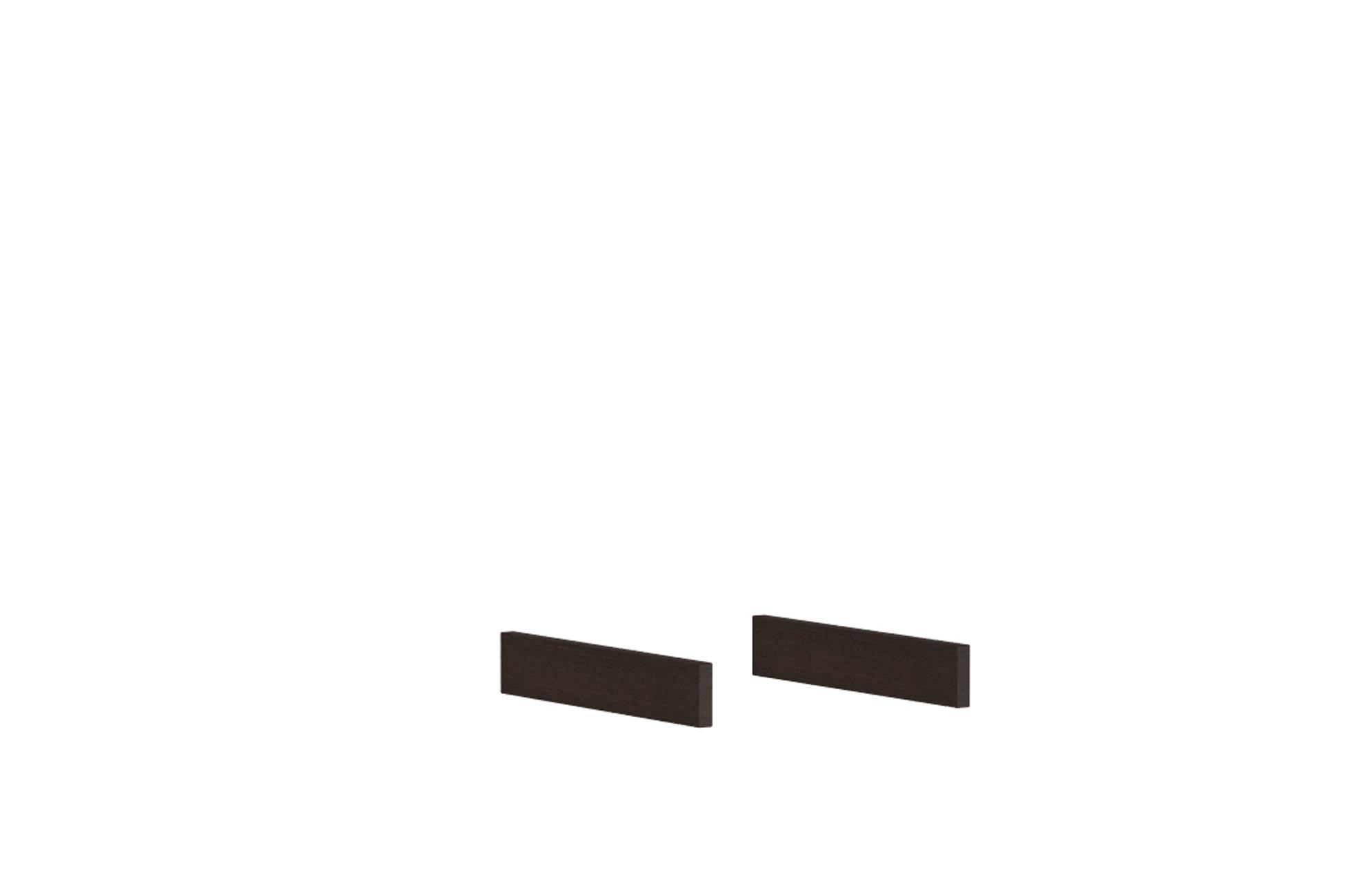 Комплект боковых цоколей Глейс 83 АнгстремСтеллажи и полки<br><br><br>Артикул: B12.096.00<br>Высота: 60<br>Ширина: 15<br>Глубина: 348