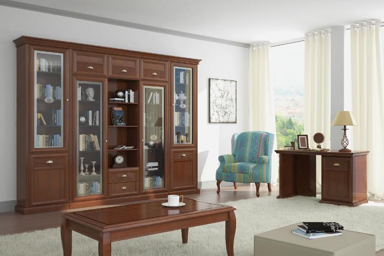 Купить Библиотека Изотта 3 в интернет магазине корпусной и мягкой мебели для дома