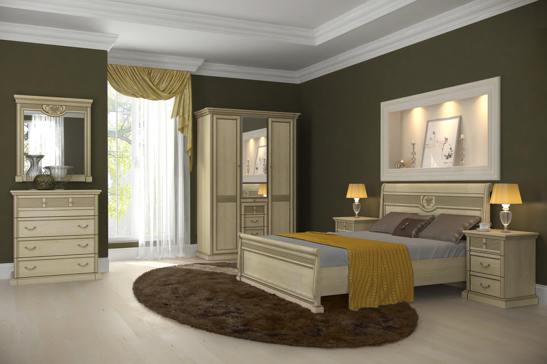 Спальня Изотта 2.2 АнгстремИзотта<br><br><br>Артикул: None<br>Высота: 2268<br>Ширина: 1543<br>Глубина: 661