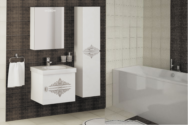 Купить Мебель для ванной комнаты Аккорд 1 в интернет магазине корпусной и мягкой мебели для дома