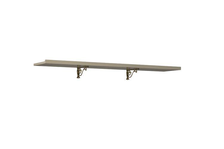 Купить Полка навесная Адажио АГ-025.03 в интернет магазине корпусной и мягкой мебели для дома