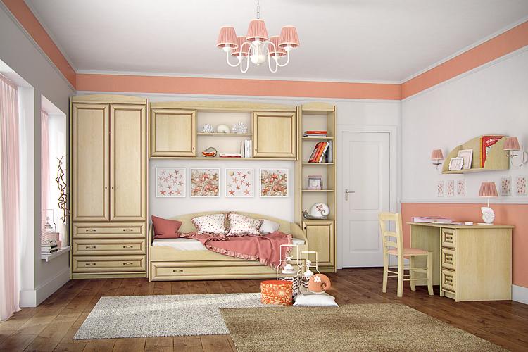 Купить Тумба прикроватная Элеганте 302.03 в интернет магазине корпусной и мягкой мебели для дома