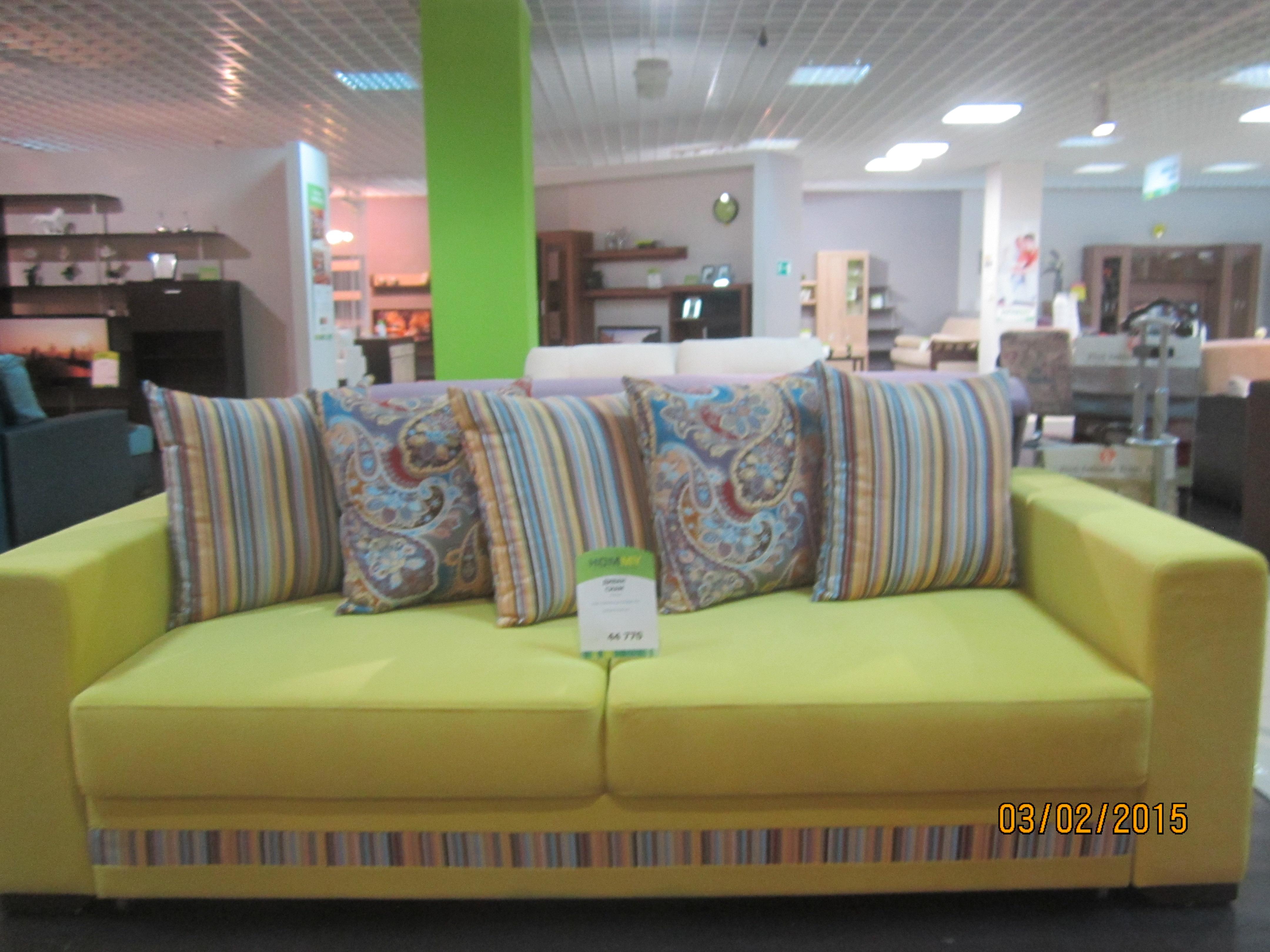 Диван-кровать Каскад 5 подушек  АнгстремМягкая мебель<br><br><br>Артикул: None<br>Высота: 630<br>Ширина: 2330<br>Глубина: 1080