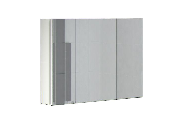 Шкаф навесной с зеркалом Аксиома 800.11 АнгстремАксиома<br><br><br>Артикул: 000.006.20<br>Высота: 600<br>Ширина: 800<br>Глубина: 178