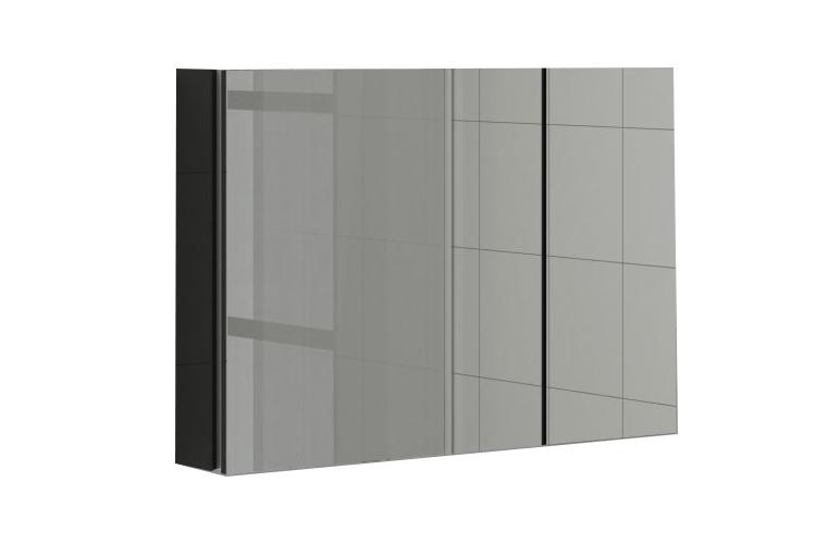 Купить Шкаф навесной с зеркалом Аксиома 800.11 в интернет магазине корпусной и мягкой мебели для дома