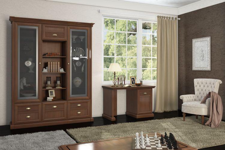Купить Библиотека Изотта 2 в интернет магазине корпусной и мягкой мебели для дома