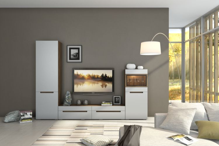 Купить Комплект Анри 2 (белый/-серый) в интернет магазине корпусной и мягкой мебели для дома