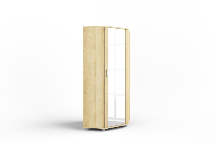 Купить Уголовой шкаф для одежды Эстетика 7 в интернет магазине корпусной и мягкой мебели для дома