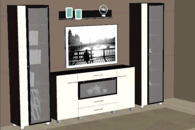 Купить Гостиная Матисс № 3 в интернет магазине корпусной и мягкой мебели для дома