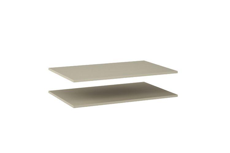 Купить Комплект полок Луара ЛУ-011.00 в интернет магазине корпусной и мягкой мебели для дома