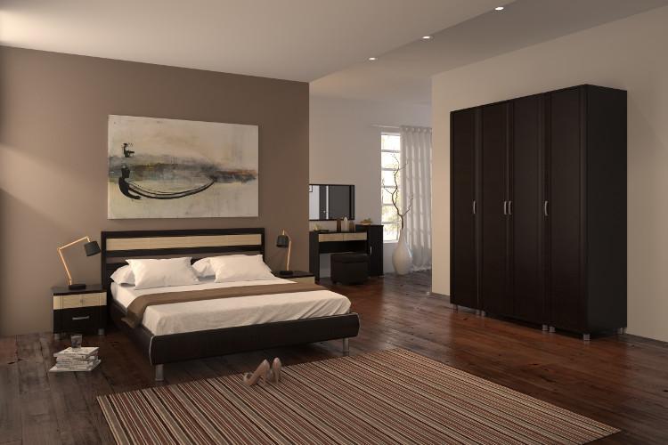 Купить Спальня Эстетика 5.2 в интернет магазине корпусной и мягкой мебели для дома