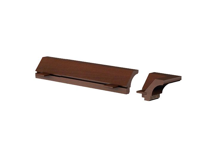 Купить Карниз Луара ЛУ-013.03 в интернет магазине корпусной и мягкой мебели для дома