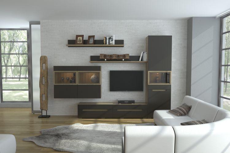 Купить Комплект Анри 1 (серый) в интернет магазине корпусной и мягкой мебели для дома