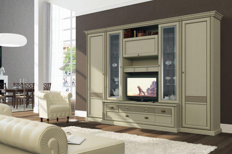 Купить Гостиная Изотта 4 в интернет магазине корпусной и мягкой мебели для дома