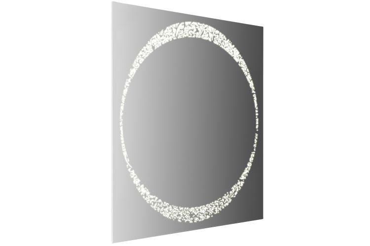 Зеркало с подсветкой Фьюжен 700.12-01 АнгстремФьюжен<br><br><br>Артикул: FVU.000.00<br>Высота: 950<br>Ширина: 700<br>Глубина: None