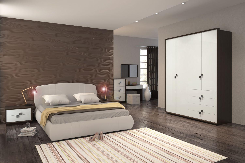 Спальня Брио 6 АнгстремБрио<br><br><br>Артикул: None<br>Высота: 2336<br>Ширина: 1860<br>Глубина: 631