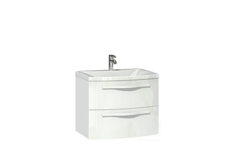 Тумба с раковиной Фьюжен 700.02 АнгстремМебель для ванных<br><br><br>Артикул: F00.006.01<br>Высота: 530<br>Ширина: 702<br>Глубина: 480
