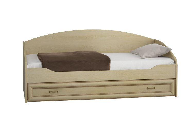 Купить Кровать Элеганте 830.25 в интернет магазине корпусной и мягкой мебели для дома