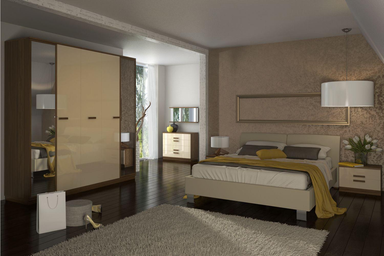 Спальня Лайна 3 АнгстремЛайна<br><br><br>Артикул: None<br>Высота: 2348<br>Ширина: 2250<br>Глубина: 608