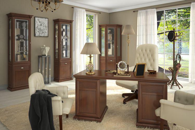 Купить Библиотека Изотта 5 в интернет магазине корпусной и мягкой мебели для дома