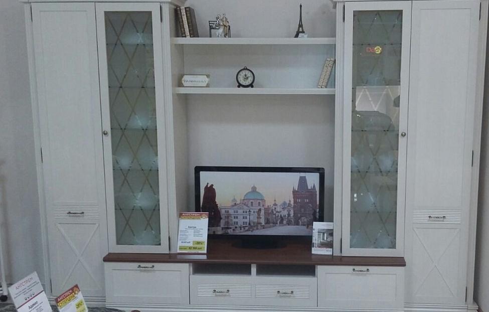 Купить Гостиная Кантри в интернет магазине корпусной и мягкой мебели для дома