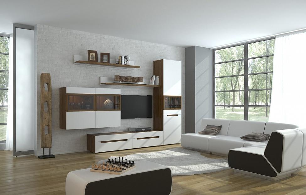 Купить Гостиная Анри 1.3 в интернет магазине корпусной и мягкой мебели для дома