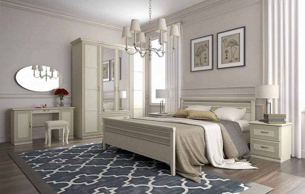Купить Спальня Адажио 5.2 в интернет магазине корпусной и мягкой мебели для дома