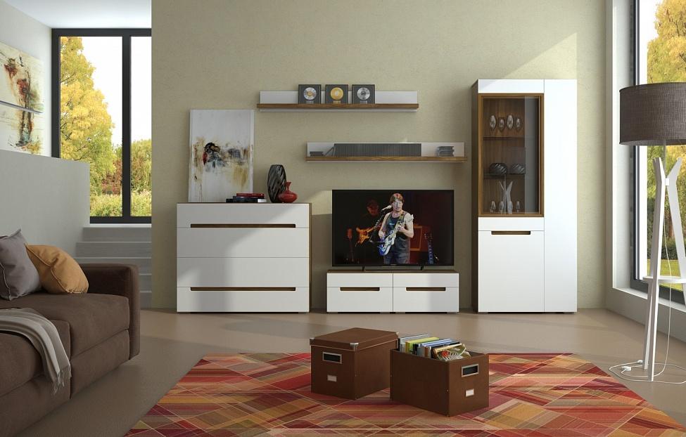 Купить Гостиная Анри 3.4 в интернет магазине корпусной и мягкой мебели для дома