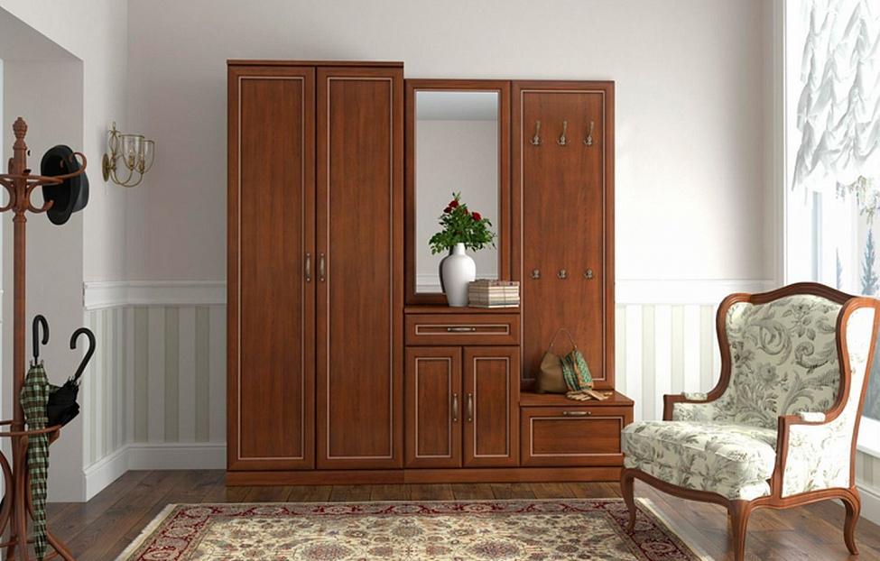 Купить Прихожая Луара 2 в интернет магазине корпусной и мягкой мебели для дома