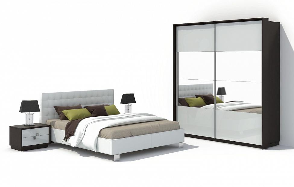 Купить Спальня Брио 10 в интернет магазине корпусной и мягкой мебели для дома