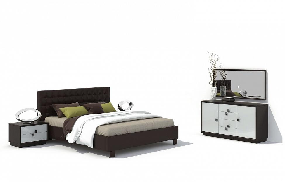 Купить Спальня Брио 19 в интернет магазине корпусной и мягкой мебели для дома