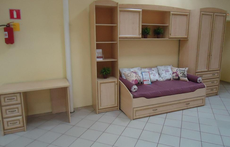 Купить Подростковая Элеганте в интернет магазине корпусной и мягкой мебели для дома